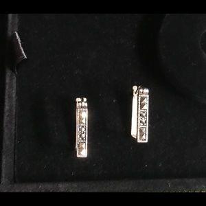 Jewelry - Sterling Silver Marcasite Earrings